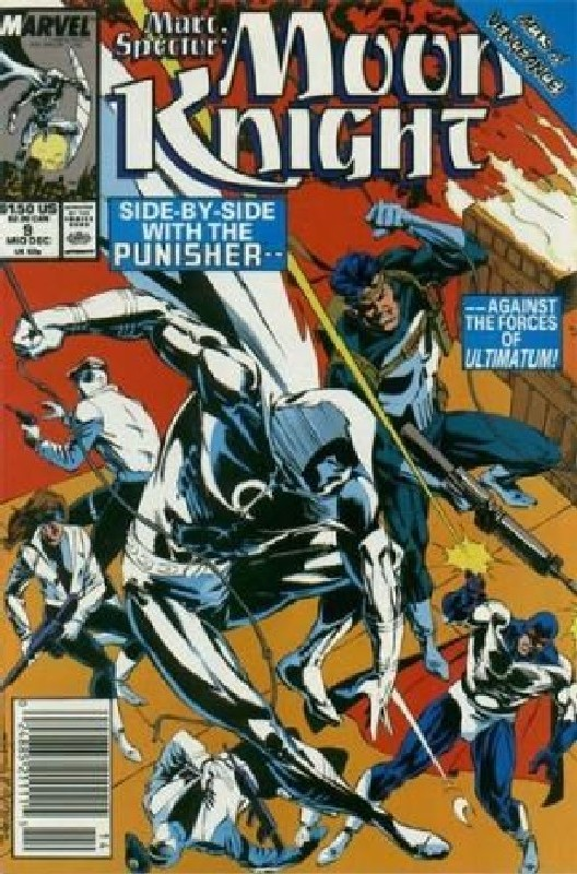 Cover of Moon Knight (Vol 3) Marc Spector #9. One of 250,000 Vintage American Comics on sale from Krypton!