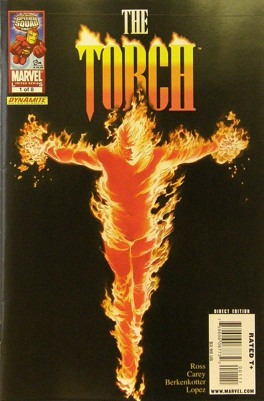 Cover of Torch (2009 Ltd) #1. One of 250,000 Vintage American Comics on sale from Krypton!