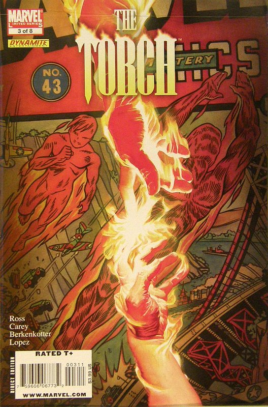 Cover of Torch (2009 Ltd) #3. One of 250,000 Vintage American Comics on sale from Krypton!