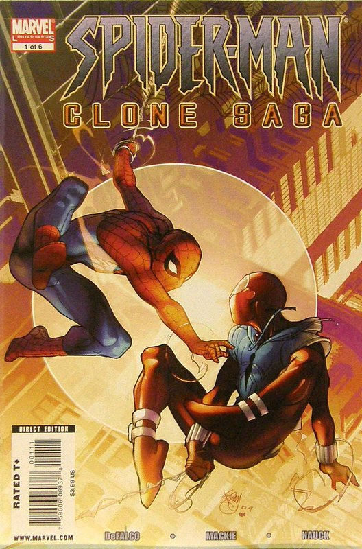 Cover of Spider-Man: Clone Saga (2009 Ltd) #1. One of 250,000 Vintage American Comics on sale from Krypton!
