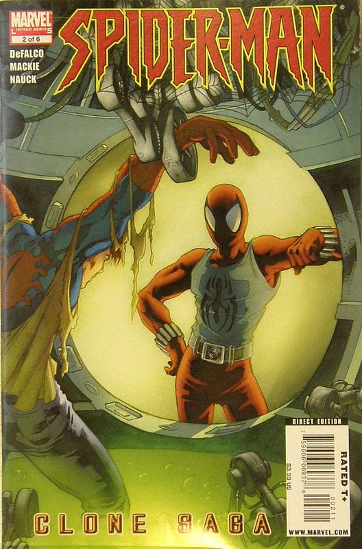 Cover of Spider-Man: Clone Saga (2009 Ltd) #2. One of 250,000 Vintage American Comics on sale from Krypton!
