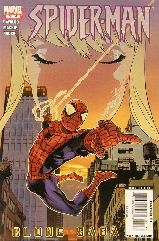 Cover of Spider-Man: Clone Saga (2009 Ltd) #3. One of 250,000 Vintage American Comics on sale from Krypton!