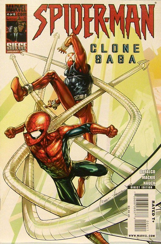 Cover of Spider-Man: Clone Saga (2009 Ltd) #4. One of 250,000 Vintage American Comics on sale from Krypton!