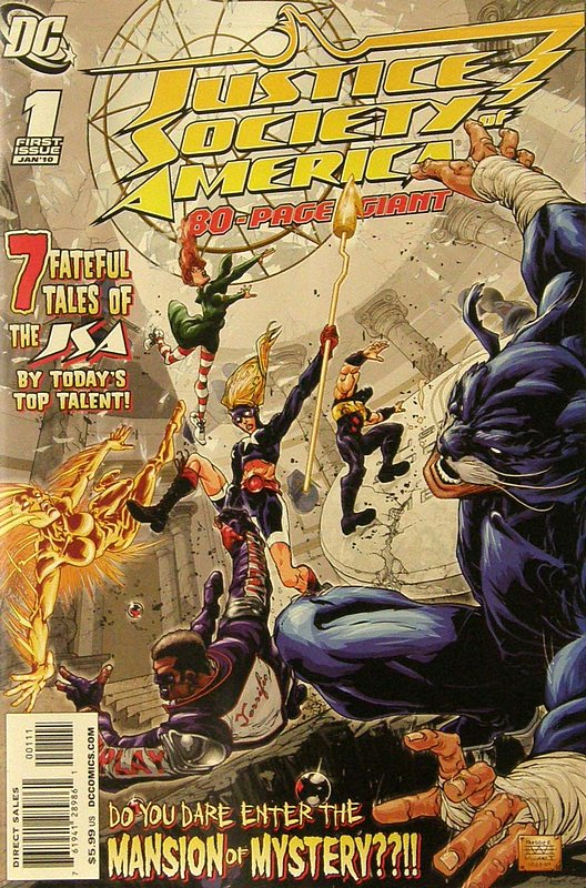 Cover of Justice Society of America 80-Page Giant (2009) #1. One of 250,000 Vintage American Comics on sale from Krypton!