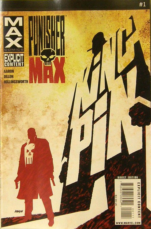 Cover of Punisher Max (Vol 2) #1. One of 250,000 Vintage American Comics on sale from Krypton!