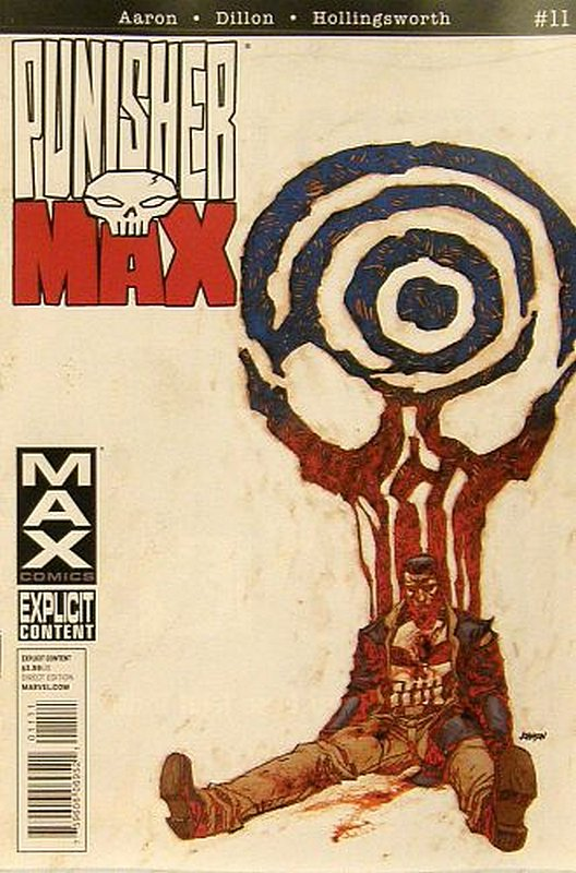 Cover of Punisher Max (Vol 2) #11. One of 250,000 Vintage American Comics on sale from Krypton!
