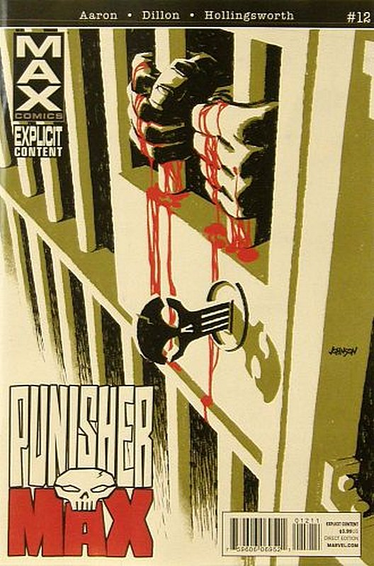 Cover of Punisher Max (Vol 2) #12. One of 250,000 Vintage American Comics on sale from Krypton!