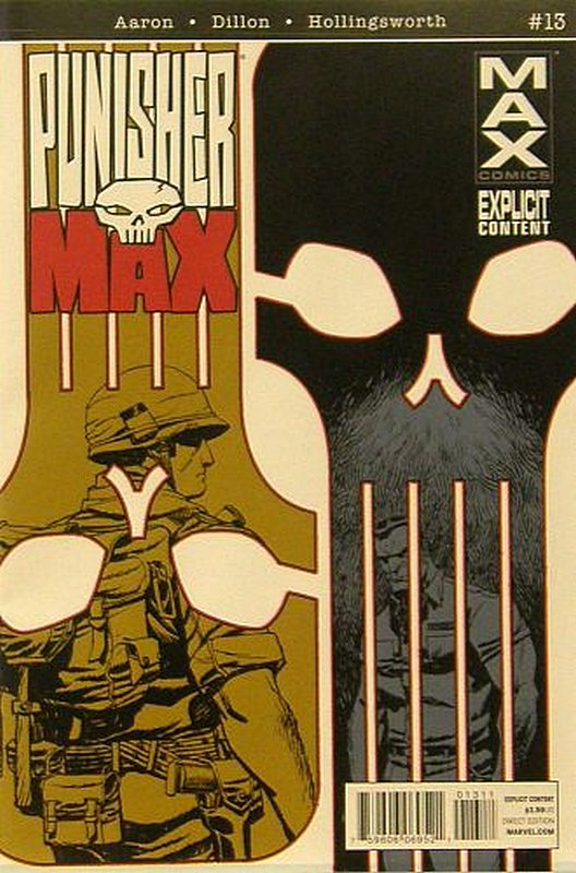 Cover of Punisher Max (Vol 2) #13. One of 250,000 Vintage American Comics on sale from Krypton!