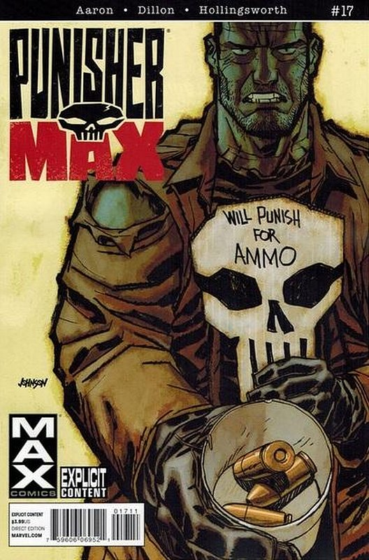 Cover of Punisher Max (Vol 2) #17. One of 250,000 Vintage American Comics on sale from Krypton!