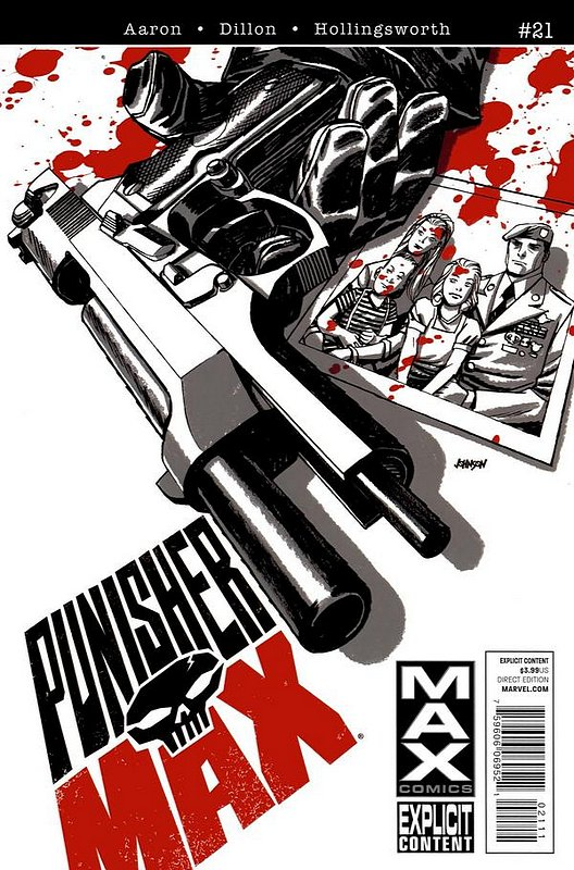 Cover of Punisher Max (Vol 2) #21. One of 250,000 Vintage American Comics on sale from Krypton!
