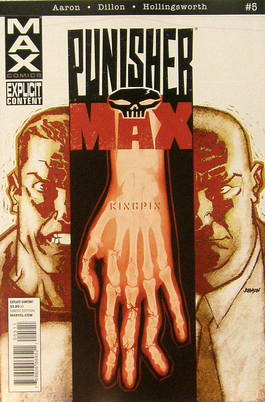 Cover of Punisher Max (Vol 2) #5. One of 250,000 Vintage American Comics on sale from Krypton!