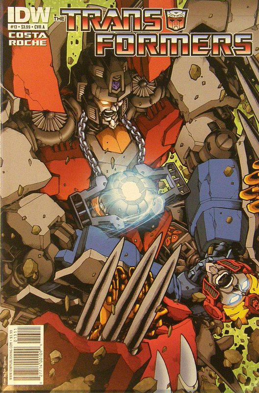 Cover of Transformers (IDW Ongoing) #13. One of 250,000 Vintage American Comics on sale from Krypton!