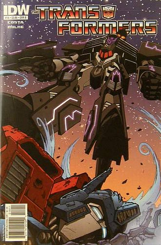 Cover of Transformers (IDW Ongoing) #18. One of 250,000 Vintage American Comics on sale from Krypton!
