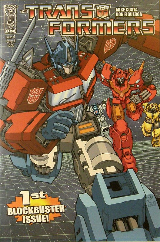 Cover of Transformers (IDW Ongoing) #1. One of 250,000 Vintage American Comics on sale from Krypton!