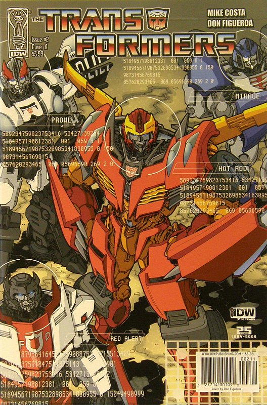 Cover of Transformers (IDW Ongoing) #2. One of 250,000 Vintage American Comics on sale from Krypton!