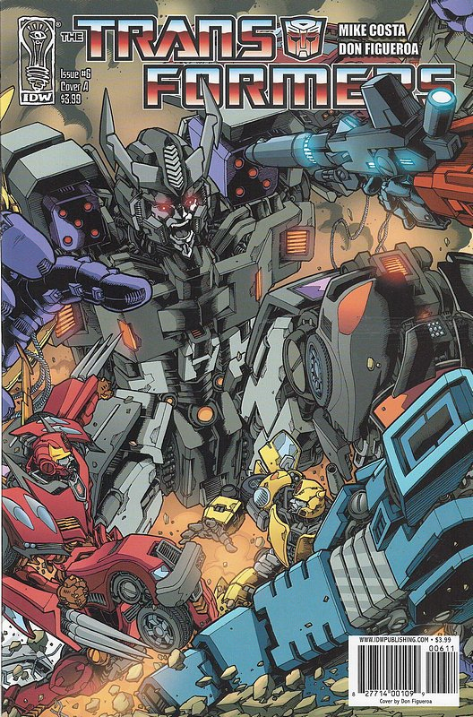 Cover of Transformers (IDW Ongoing) #6. One of 250,000 Vintage American Comics on sale from Krypton!