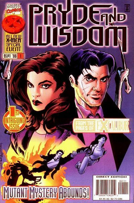Cover of Pryde & Wisdom (1996 Ltd) #1. One of 250,000 Vintage American Comics on sale from Krypton!