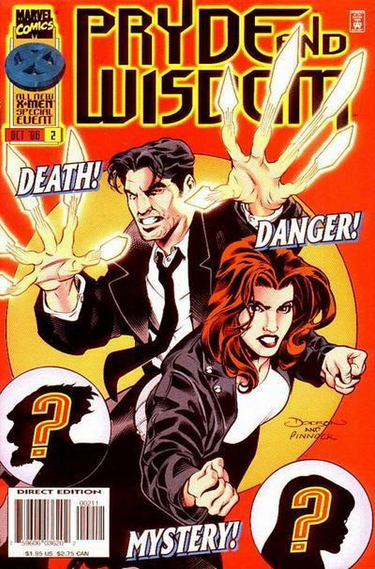 Cover of Pryde & Wisdom (1996 Ltd) #2. One of 250,000 Vintage American Comics on sale from Krypton!