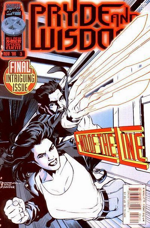 Cover of Pryde & Wisdom (1996 Ltd) #3. One of 250,000 Vintage American Comics on sale from Krypton!