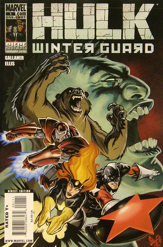Cover of Hulk: Winter Guard (2009 One Shot) #1. One of 250,000 Vintage American Comics on sale from Krypton!