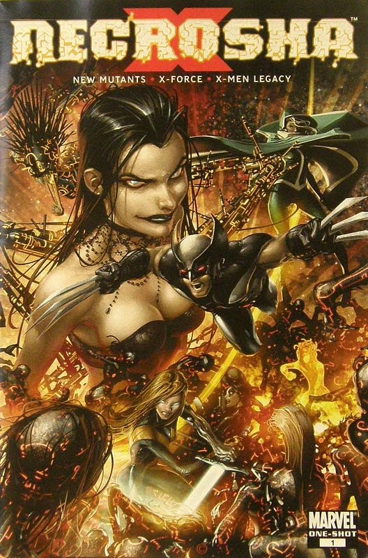 Cover of X-Necrosha (2009 One Shot) #1. One of 250,000 Vintage American Comics on sale from Krypton!