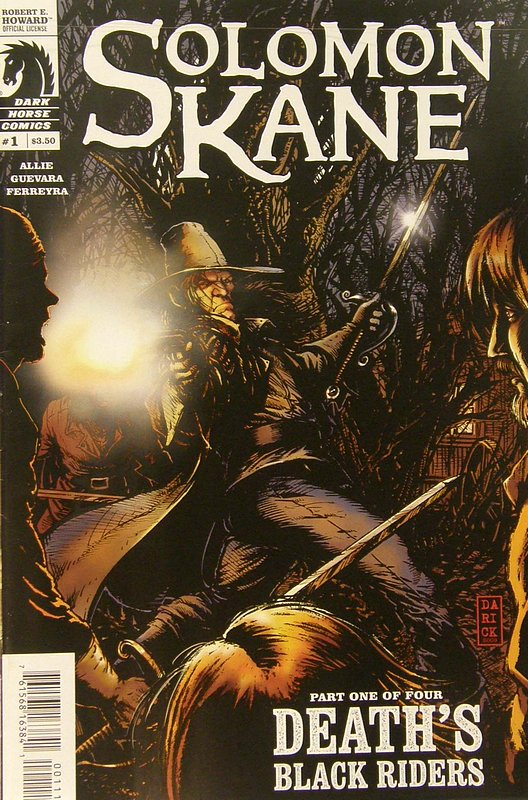 Cover of Solomon Kane: Deaths Black Riders (2010 Ltd) #1. One of 250,000 Vintage American Comics on sale from Krypton!