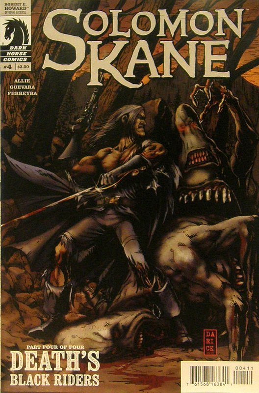 Cover of Solomon Kane: Deaths Black Riders (2010 Ltd) #4. One of 250,000 Vintage American Comics on sale from Krypton!