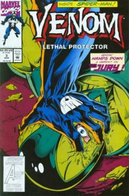 Cover of Venom: Lethal Protector (1993 Ltd) #3. One of 250,000 Vintage American Comics on sale from Krypton!