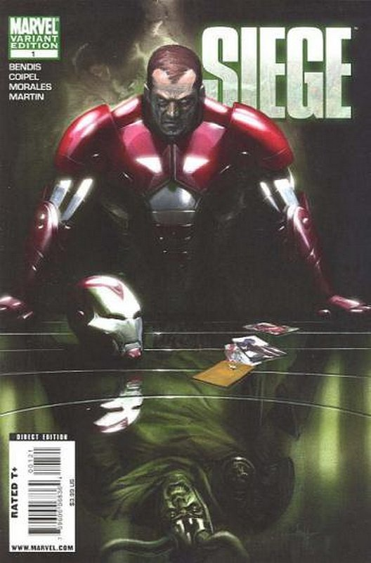 Cover of Siege (2010 Ltd) #1. One of 250,000 Vintage American Comics on sale from Krypton!
