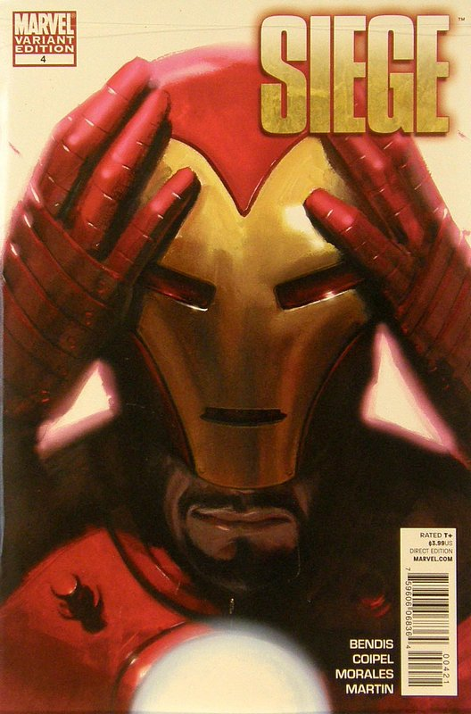 Cover of Siege (2010 Ltd) #4. One of 250,000 Vintage American Comics on sale from Krypton!