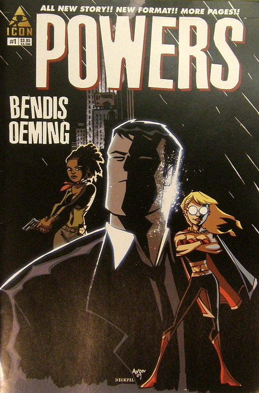 Cover of Powers (Vol 3) #1. One of 250,000 Vintage American Comics on sale from Krypton!