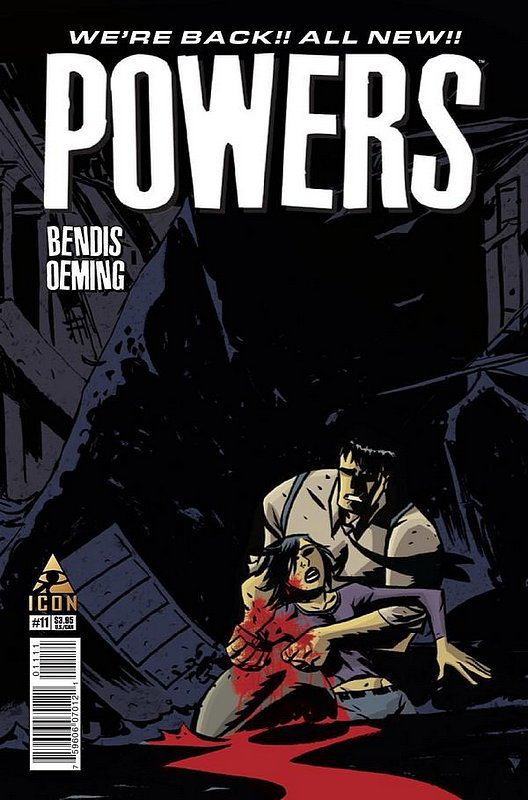 Cover of Powers (Vol 3) #11. One of 250,000 Vintage American Comics on sale from Krypton!