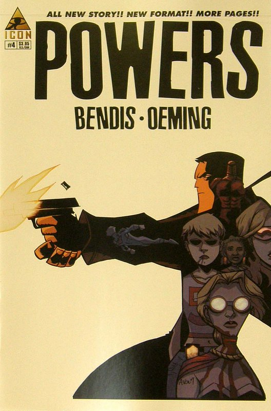 Cover of Powers (Vol 3) #4. One of 250,000 Vintage American Comics on sale from Krypton!