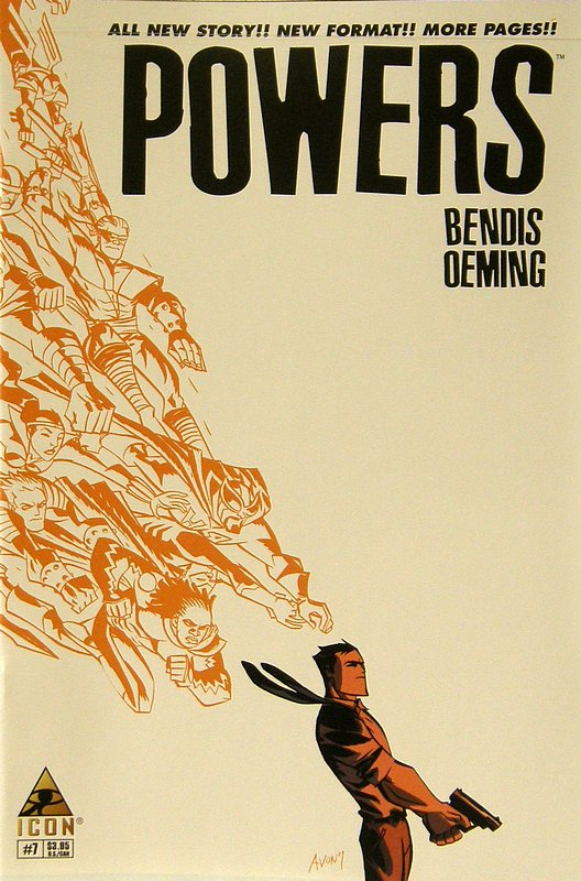 Cover of Powers (Vol 3) #7. One of 250,000 Vintage American Comics on sale from Krypton!
