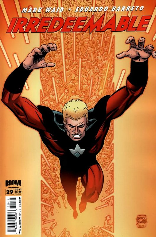 Cover of Irredeemable (Vol 1) #29. One of 250,000 Vintage American Comics on sale from Krypton!