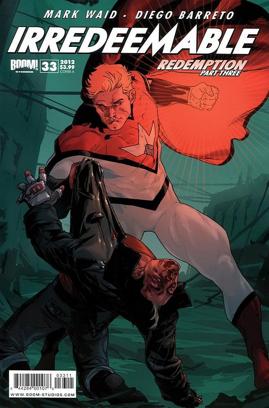 Cover of Irredeemable (Vol 1) #33. One of 250,000 Vintage American Comics on sale from Krypton!