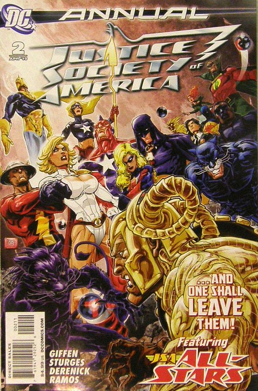 Cover of Justice Society of America Annual (2010) #2. One of 250,000 Vintage American Comics on sale from Krypton!