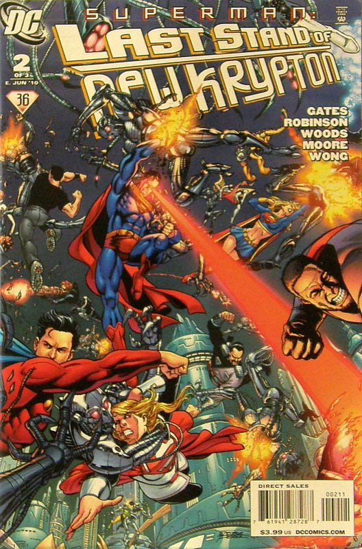 Cover of Superman: Last Stand of New Krypton (2010 Ltd) #2. One of 250,000 Vintage American Comics on sale from Krypton!