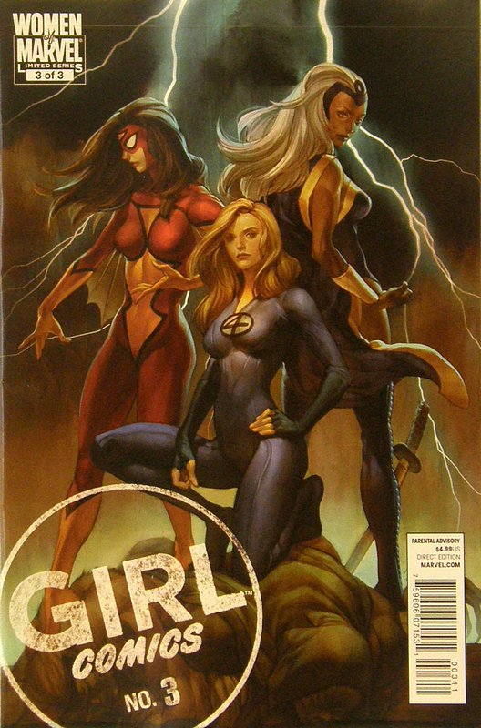 Cover of Girl Comics (2010 Ltd) #3. One of 250,000 Vintage American Comics on sale from Krypton!
