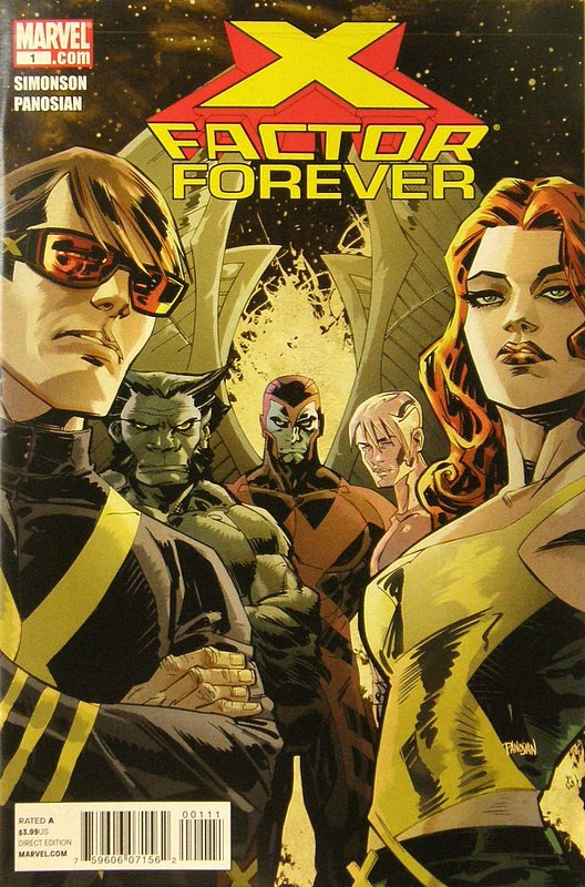 Cover of X-Factor Forever #1. One of 250,000 Vintage American Comics on sale from Krypton!
