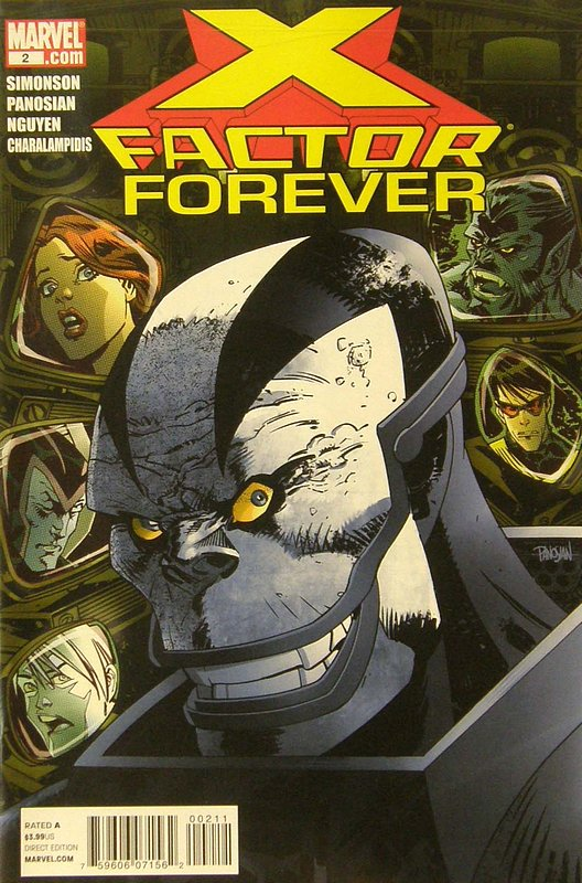 Cover of X-Factor Forever #2. One of 250,000 Vintage American Comics on sale from Krypton!