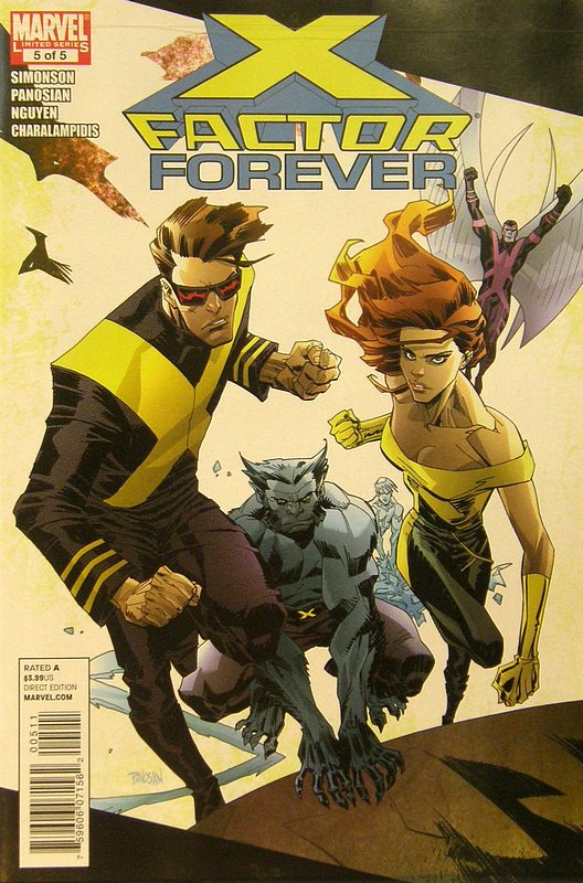 Cover of X-Factor Forever #5. One of 250,000 Vintage American Comics on sale from Krypton!