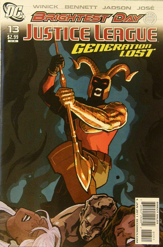 Cover of Justice League: Generation Lost (Vol 1) #13. One of 250,000 Vintage American Comics on sale from Krypton!