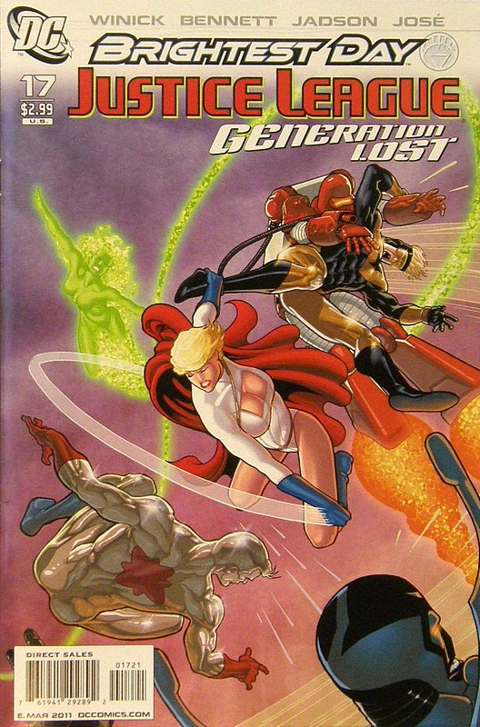 Cover of Justice League: Generation Lost (Vol 1) #17. One of 250,000 Vintage American Comics on sale from Krypton!