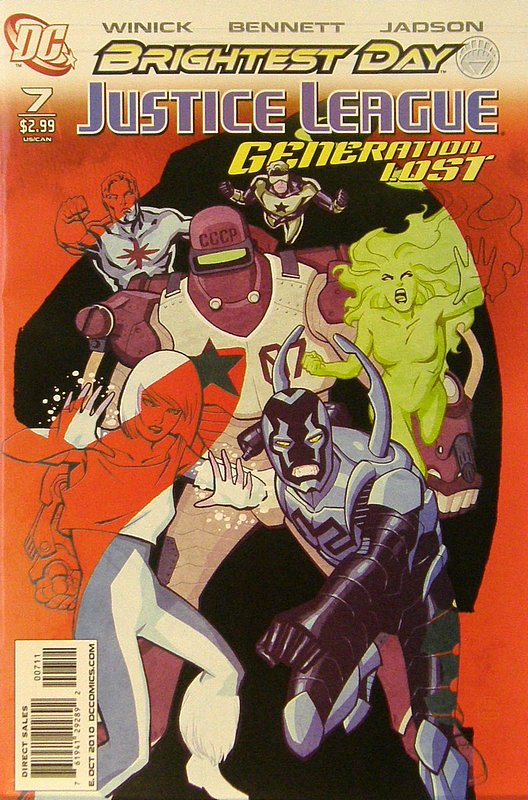 Cover of Justice League: Generation Lost (Vol 1) #7. One of 250,000 Vintage American Comics on sale from Krypton!