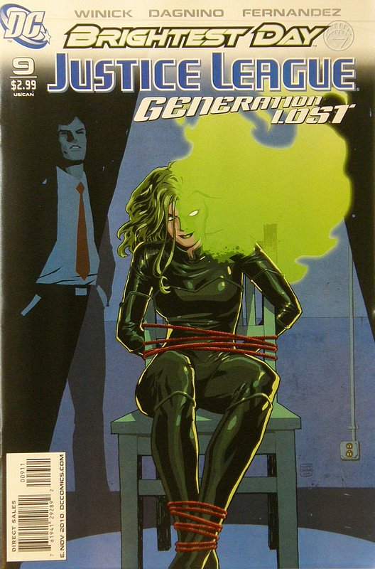 Cover of Justice League: Generation Lost (Vol 1) #9. One of 250,000 Vintage American Comics on sale from Krypton!