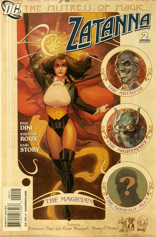 Cover of Zatanna (Vol 1) #2. One of 250,000 Vintage American Comics on sale from Krypton!