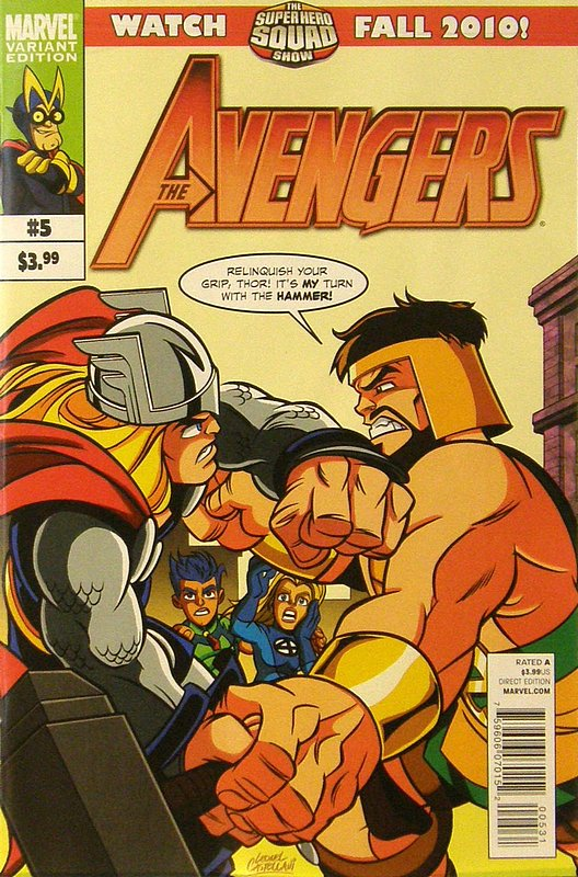 Cover of Avengers (Vol 4) #5. One of 250,000 Vintage American Comics on sale from Krypton!