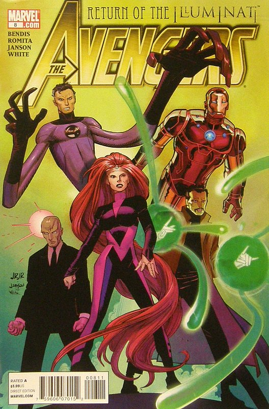 Cover of Avengers (Vol 4) #8. One of 250,000 Vintage American Comics on sale from Krypton!
