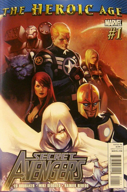 Cover of Secret Avengers (Vol 1) #1. One of 250,000 Vintage American Comics on sale from Krypton!